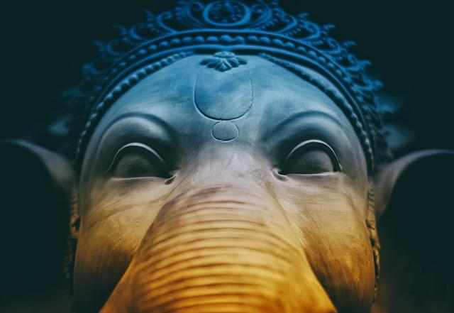 Ganesha, Hindu, God, Indian, Art, Goddess, Close-up