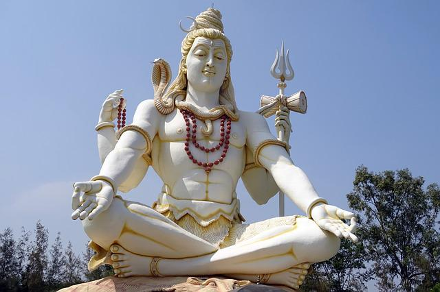 Lord Shiva, Statue, God, Hindu, Religion, Architecture