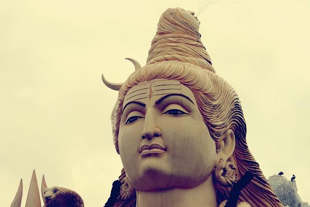 God, Shiva, Statue