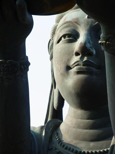 Guanyin, Statue, Buddhism, Goddess, Hong Kong