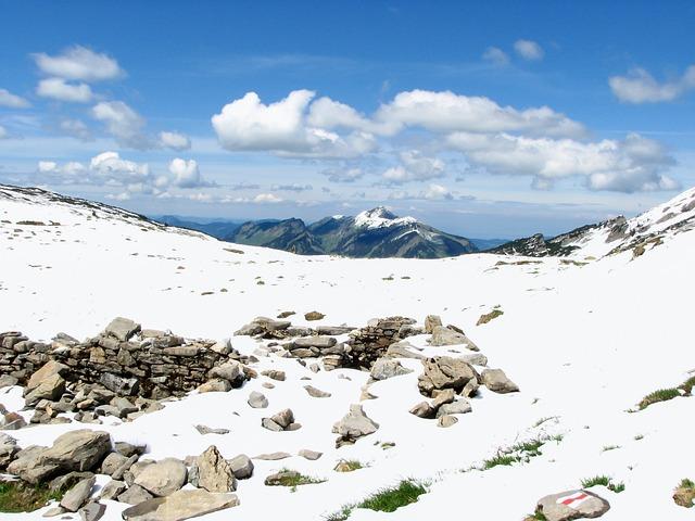 Alpine, Snow, Hiking, God's Acre, Kleinwalsertal