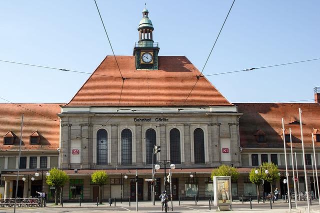 Görlitz, Railway Station, Lausitz