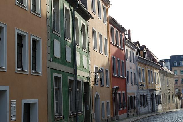 Görlitz, Old Houses, Road