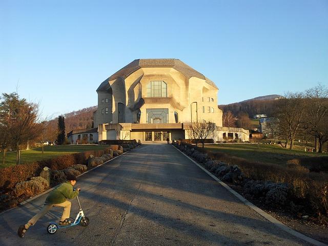Goetheanum, Switzerland, Dornach, Rudolf Steiner