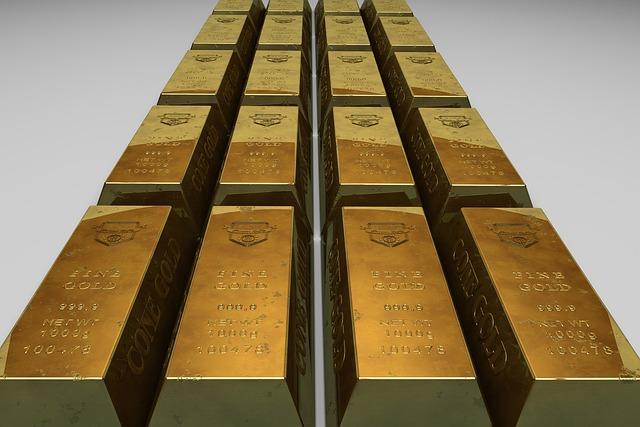 Gold Bullion, Bank, Finance, Savings