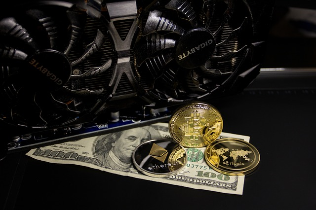 Gold, Cryptocurrency, Money, Finance, Virtual, Bitcoin