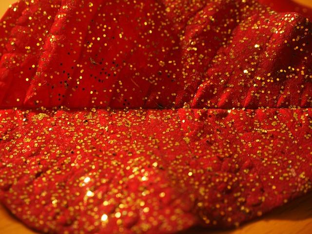 Leaf, Gold, Gold Dust, Christmas, Ornament