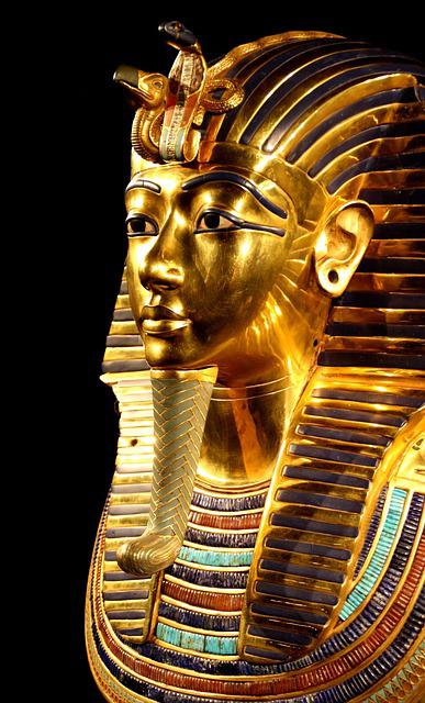 Tutankhamun, Death Mask, Pharaonic, Egypt, Gold