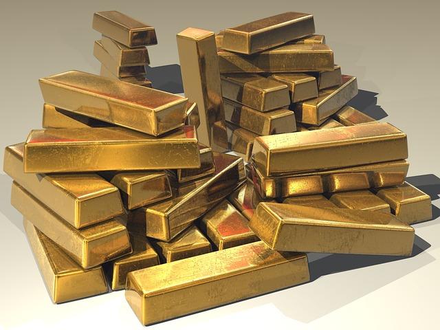 Gold, Ingots, Golden, Treasure, Bullion, Precious