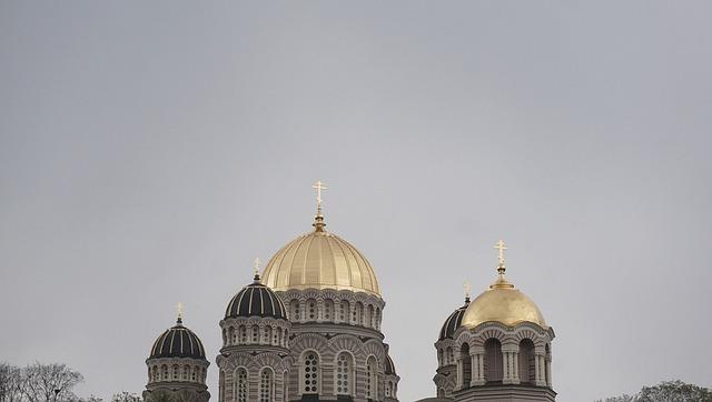 Gold In The Sky, Orthodox Church, Riga