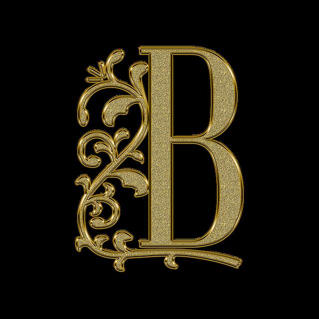 Letter, Monogram, Golden, Gold, Font, Letters, Ligature