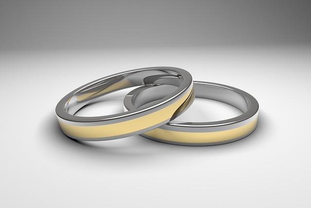 Ring, Wedding, Rings, Gold, Silver, Celebration