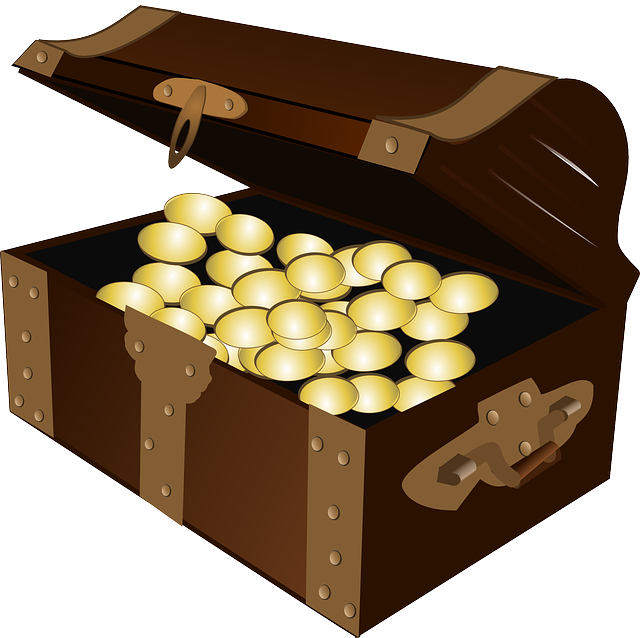 Treasure, Treasure Chest, Gold, Chest, Pirate, Rich