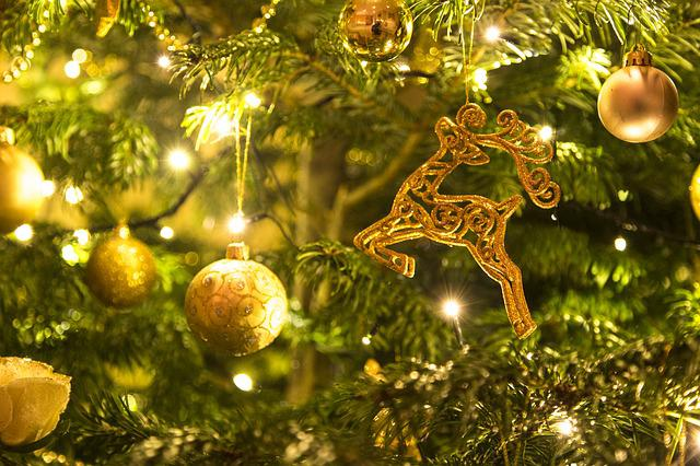 Christmas, Golden, Xmas, Holiday, Gold, Decoration
