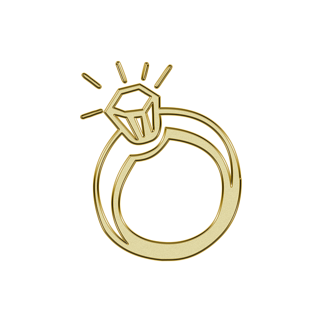 Ring, Gold, Golden, Symbol, Glitter, Wedding