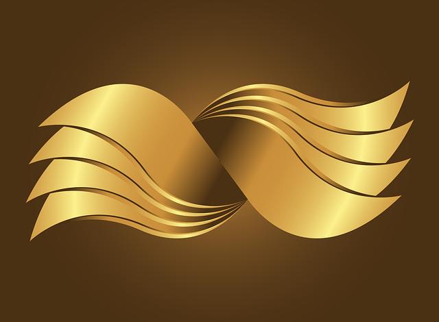 Golden Swing, Gold, Vector, Logo, Design, Golden