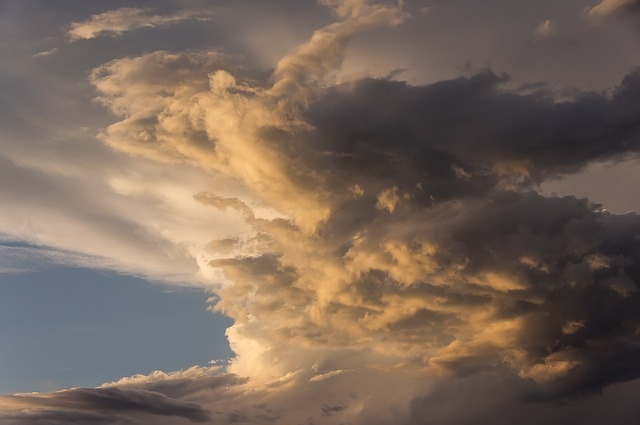 Sky, Cloud, Sunset, Grey, Golden, Australia