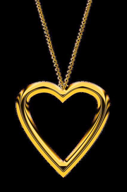 Heart, Chain, Love, Gold, Jewellery, Trailers, Golden
