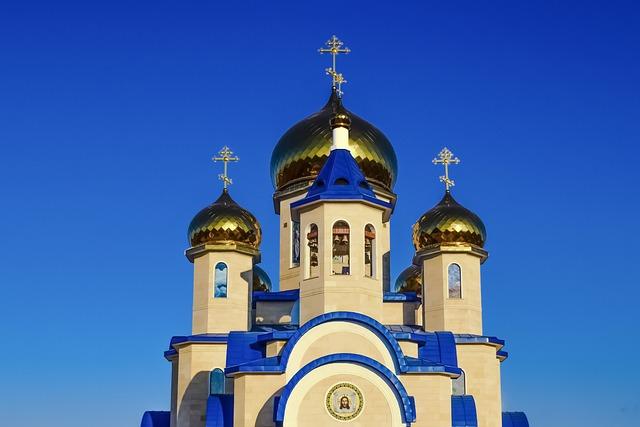 Tamassos Bishop, Russian Church, Dome, Golden