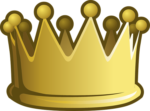 Crown, Golden, Yellow, Emperor, Accessories, Accessory