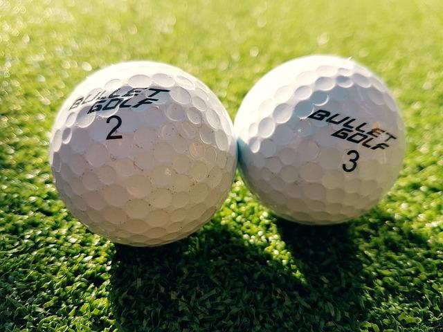 Golf Ball, Golfing, Sport
