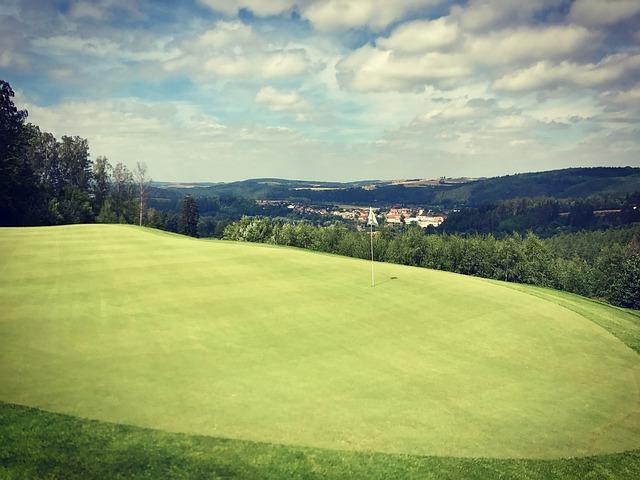 Golf, Golf Course, Field, Nature, Summer