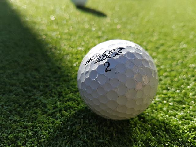 Golf Ball, Ball, Sport, Golfing, Recreation, Golfball