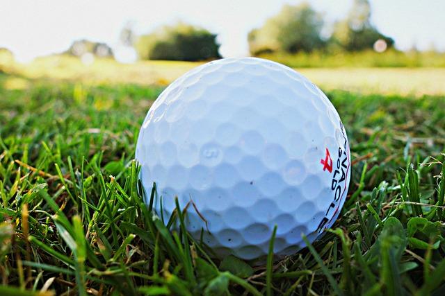 Golf Ball, Golf, Golfing, Golf Course, Sport, Grass