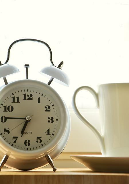 Alarm Clock, Time Of, Good Morning, Stand Up