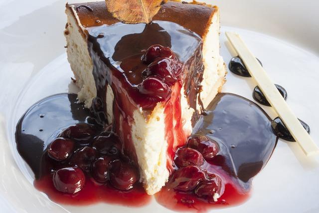 Cake, Jam, Red, Close-up, Good Morning, Sweet, Cafe
