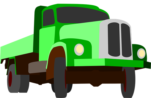 Truck, Traffic, Cargo, Goods, Green, Auto, Machine