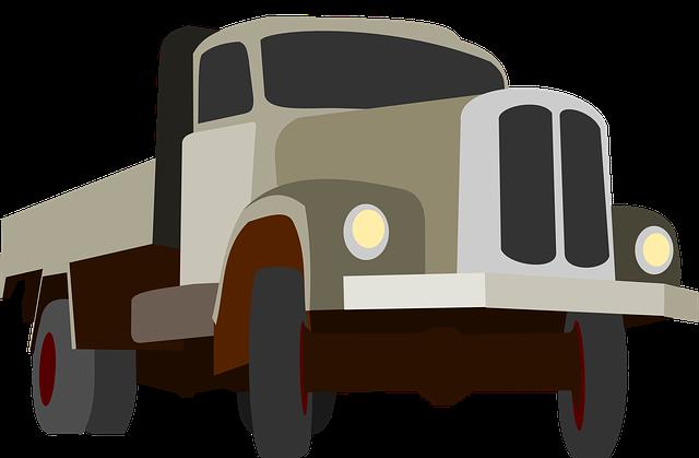 Truck, Traffic, Cargo, Goods, Grey, Auto, Machine, Road