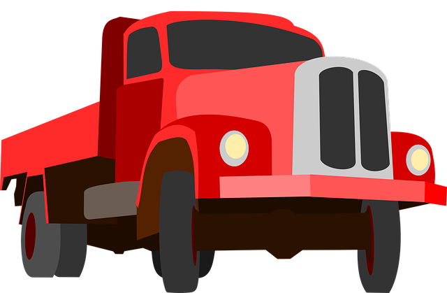 Truck, Traffic, Cargo, Goods, Red, Auto, Machine, Road