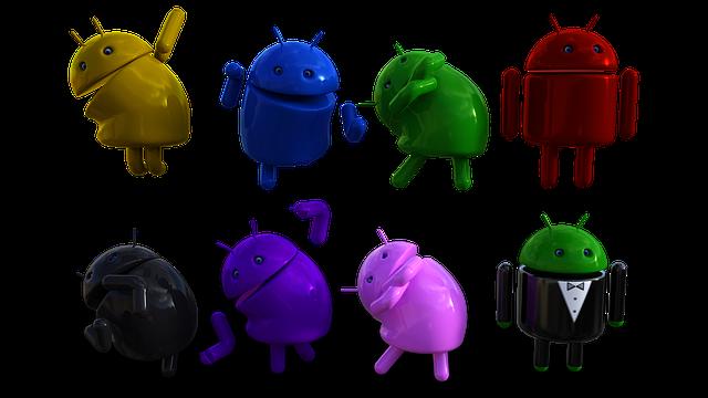 Android, Logo, Bot, Minibot, Mobile, Phone, Google