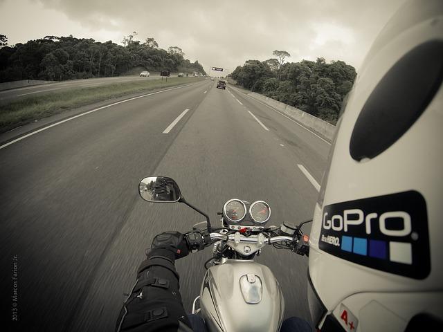 Motorcycle, Moto Bike, Gopro, Go Pro, Travel, Helmet