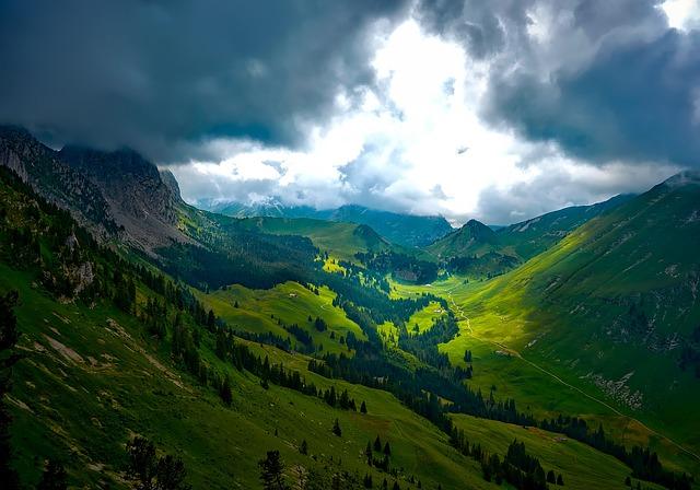 Switzerland, Mountains, Landscape, Ravine, Gorge