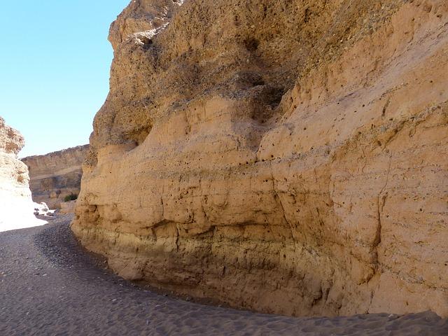 Sesriem, Rock, Gorge, Namibia