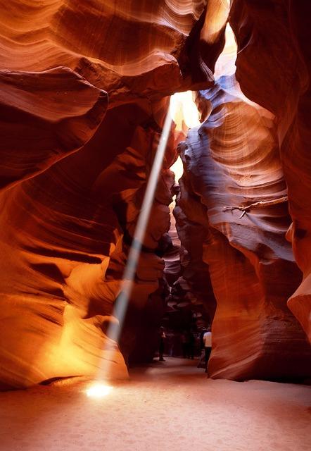 Slot Canyon, Arizona, Gorge, Antelope Canyon, Usa
