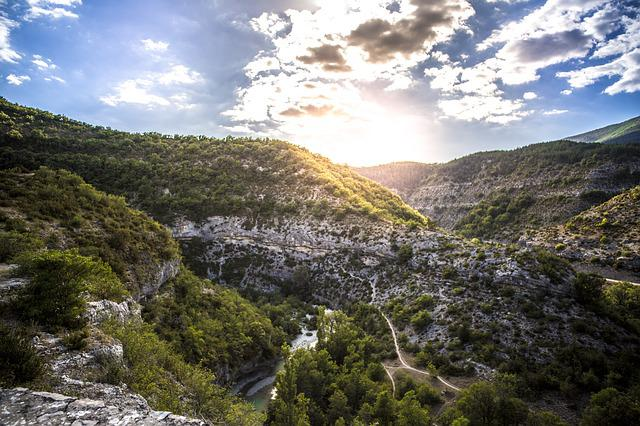 Gorges Du Verdon, Gorge Meouge, Throat, Travel