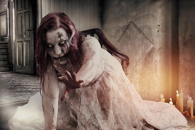 Gothic, Goth, Horror, Dark, Zombie, Zombie Girl