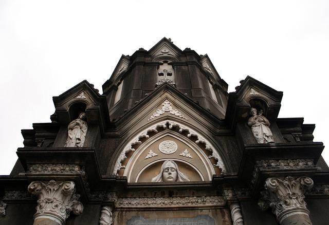 Cemetery, Tomb Art, Sculptures, Architecture, Gothic