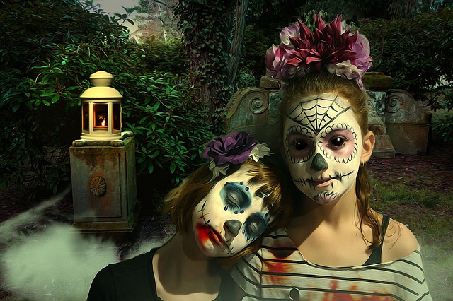 Gothic, Fantasy, Dark, Fear, Horror, Sugar Skull