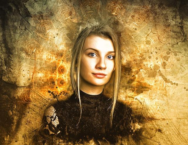 Gothic, Fantasy, Dark, Portrait, Fantasy Portrait