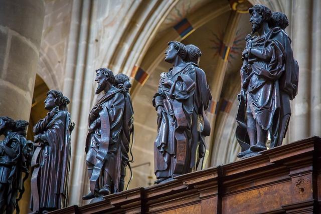 Swabian Gmünd, Münster, Gothic, Parler, Church, Choir