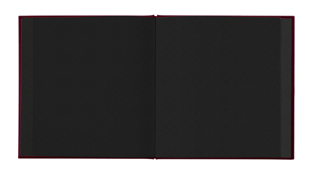 Book, Open, Black, Pages, Noble, Gothic, Isolated