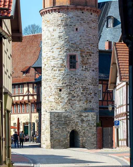 Architecture, Gothic, Old, Travel, City, Stolberg