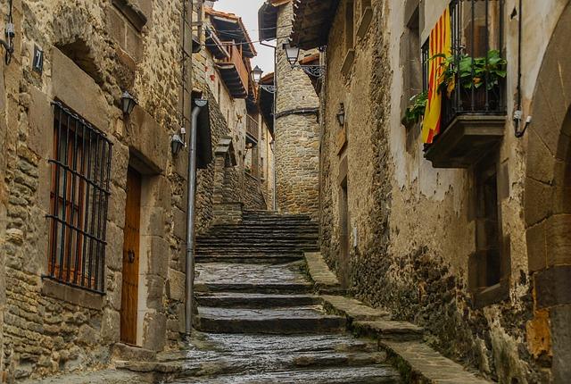 Architecture, Old, Strait, Gothic, Street, Travel