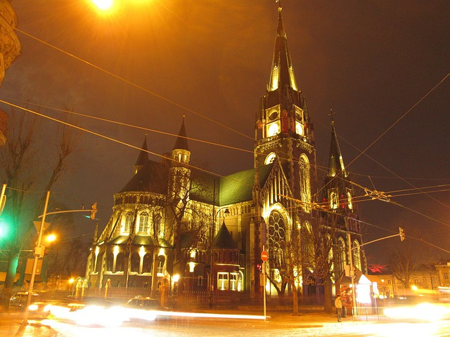 Ukraine, Lviv, Gotičnij Church