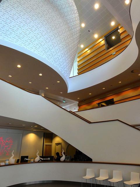 Gouda, Netherlands, Hotel, Building, Inside, Interior