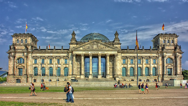 Berlin, Reichstag, Government, Glass Dome, Building